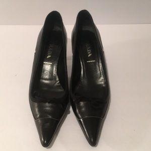 Prada Black Pump Size 38